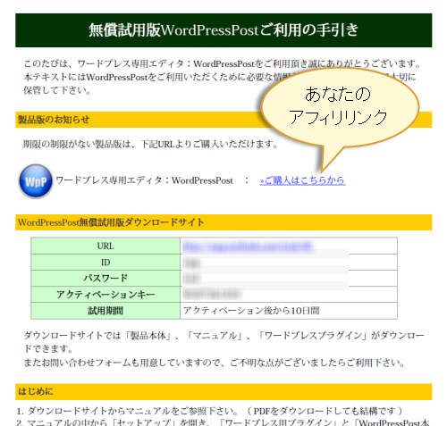 試用版WordPressPost