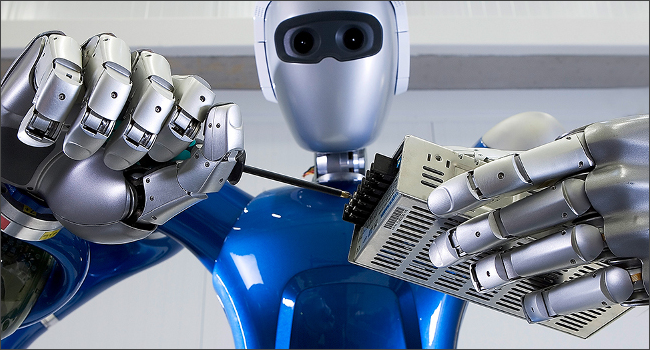人間代替ロボット